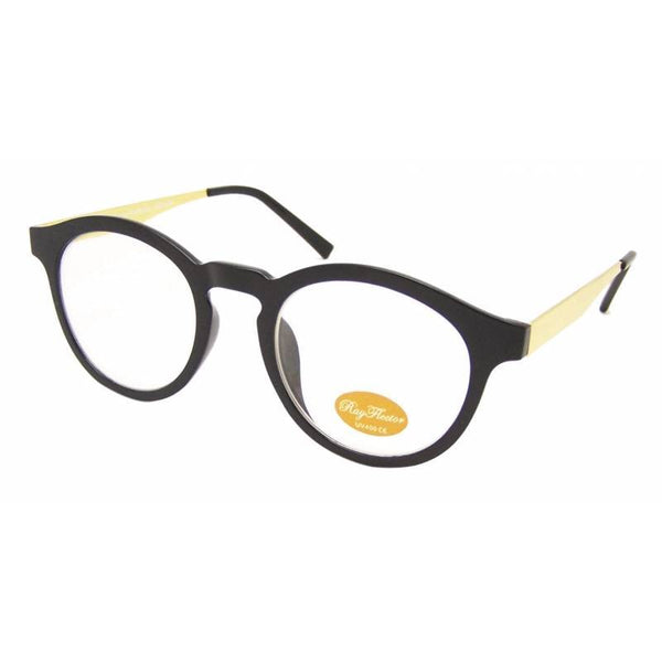 JUDE Clear Lens Round Glasses - Minimum Mouse