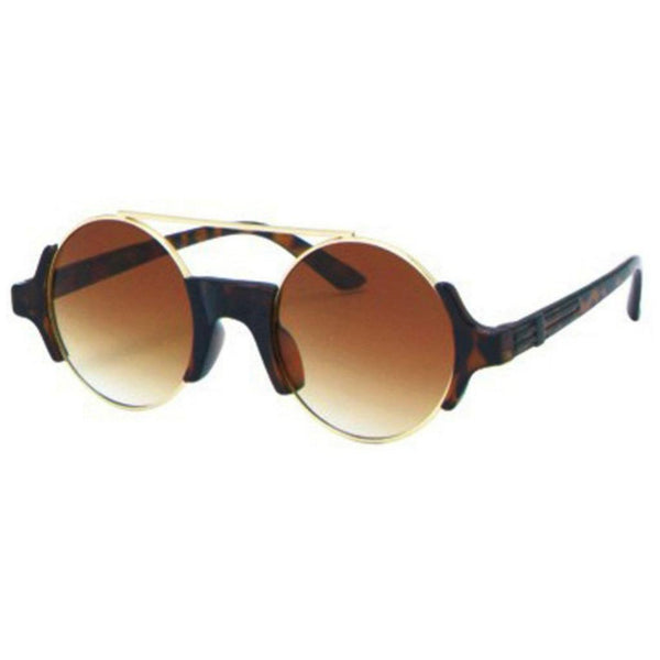 JULES Round Lens Wired Top Sunglasses - Minimum Mouse