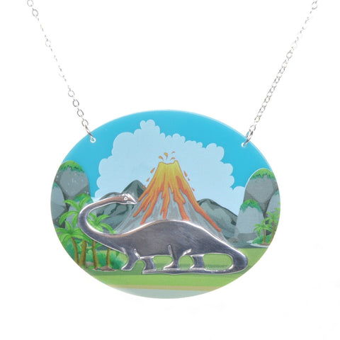 Land Before Time Dinosaur Necklace by Love Boutique - Minimum Mouse