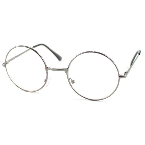 LENNON Clear Lens Round Glasses - Minimum Mouse