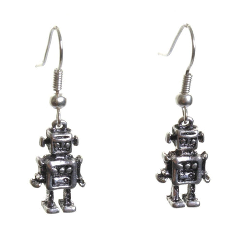 Little Robot Earrings - Minimum Mouse