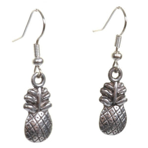 Little Silver Pineapple Earrings - Minimum Mouse