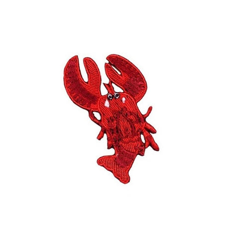Lobster Iron On Patch - Minimum Mouse