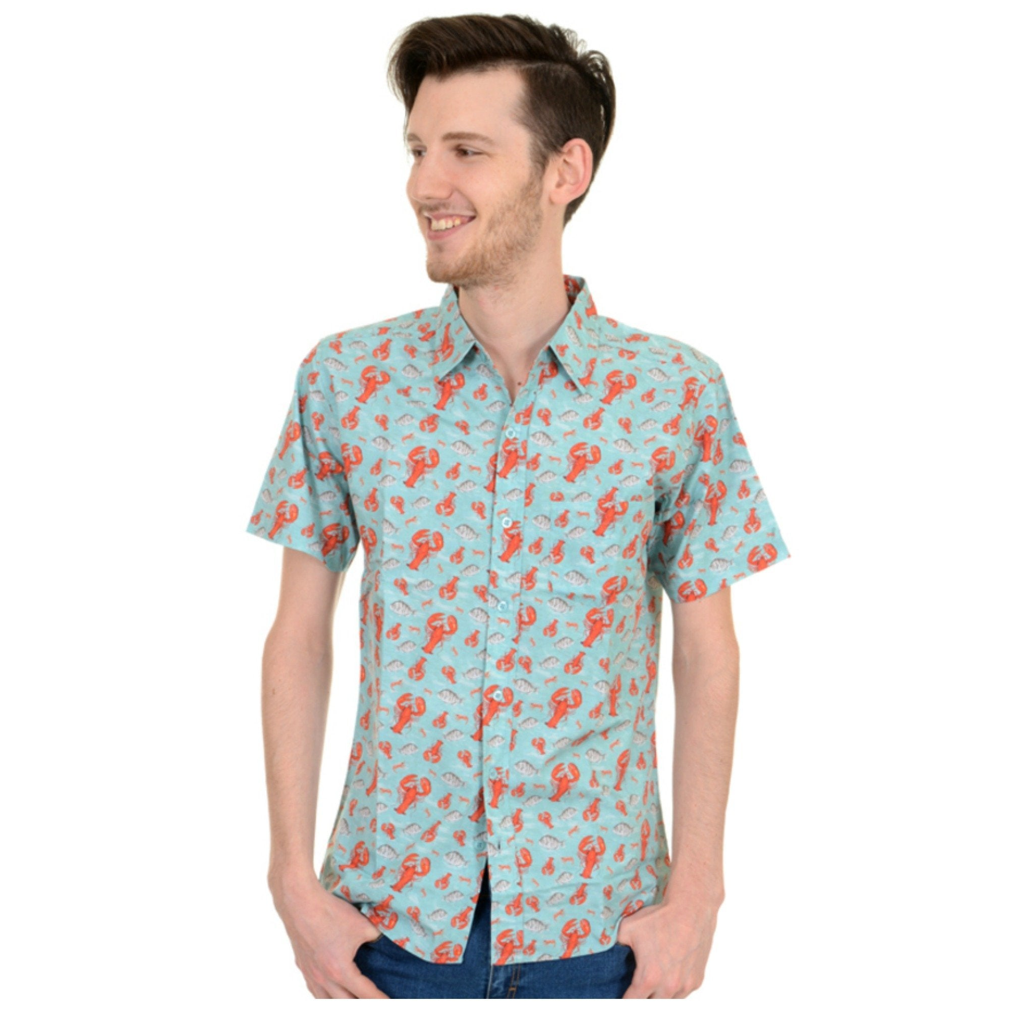 Lobster Print Shirt by Run and Fly - Minimum Mouse