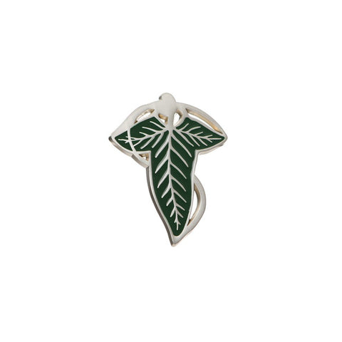 Lord Of The Rings Elf Leaf Brooch Lapel Pin Badge - Minimum Mouse