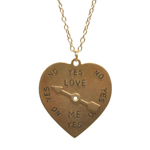 Love Spinner Necklace - Minimum Mouse