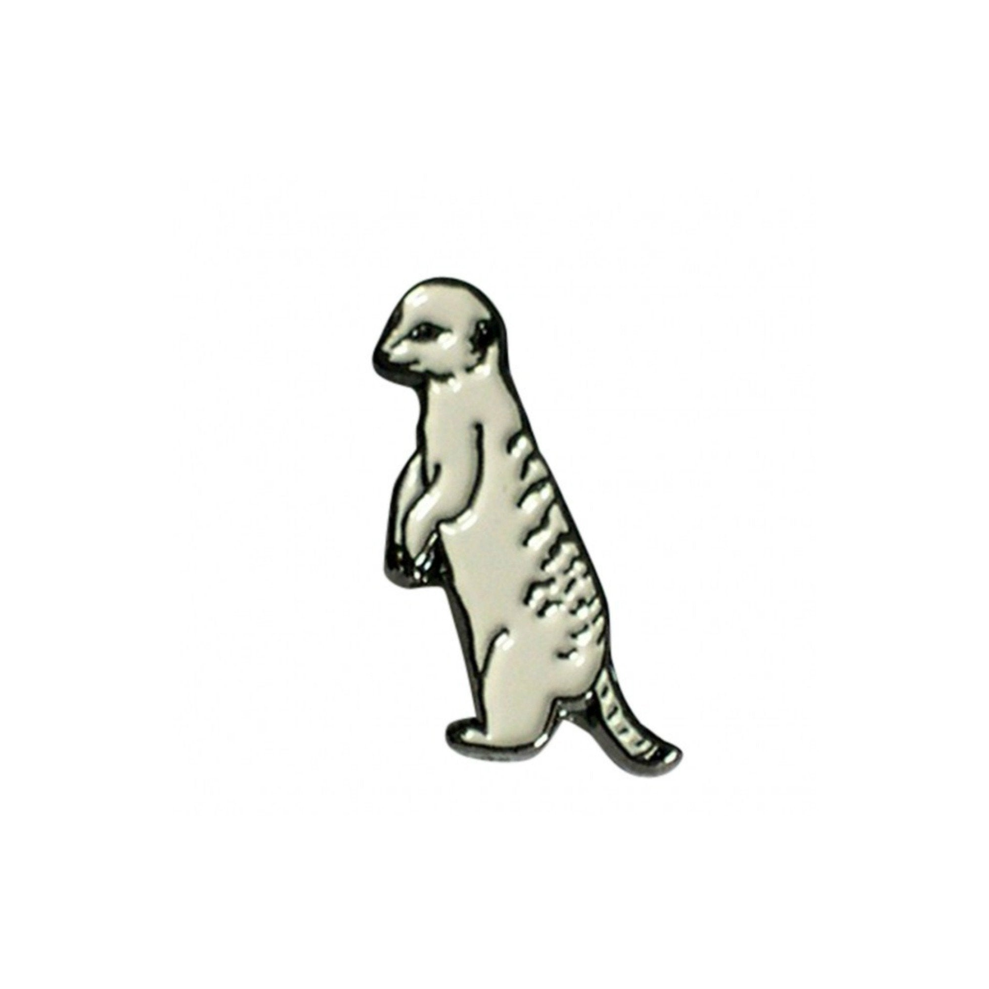 Meerkat Enamel Lapel Pin Badge - Minimum Mouse
