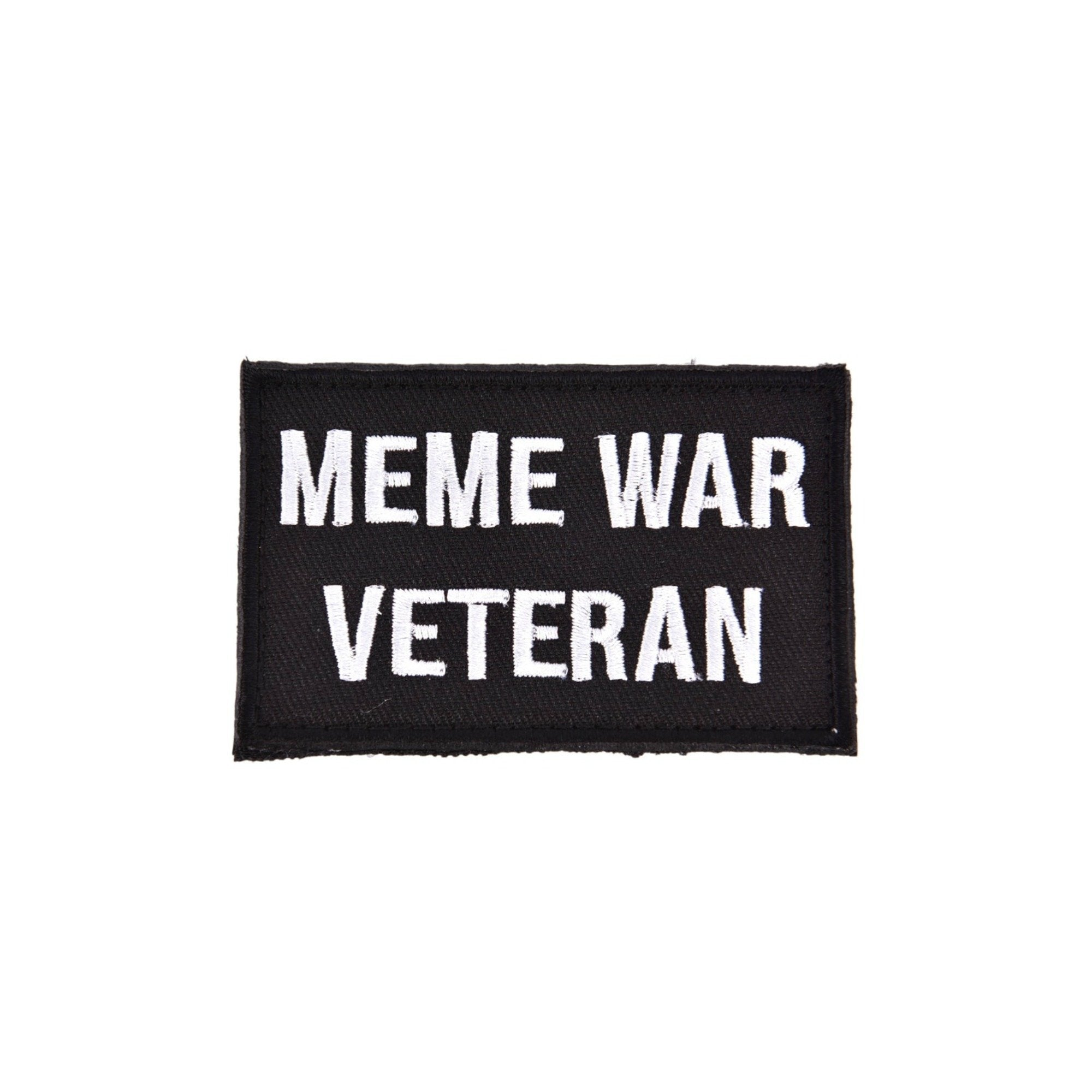 Meme War Veteran Sew On Patch - Minimum Mouse