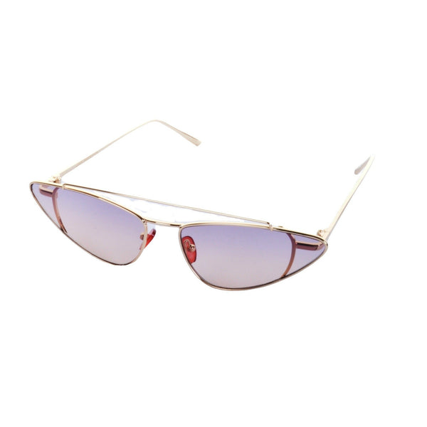 Micro Metal Ombre Cat Eye Sunglasses - Minimum Mouse