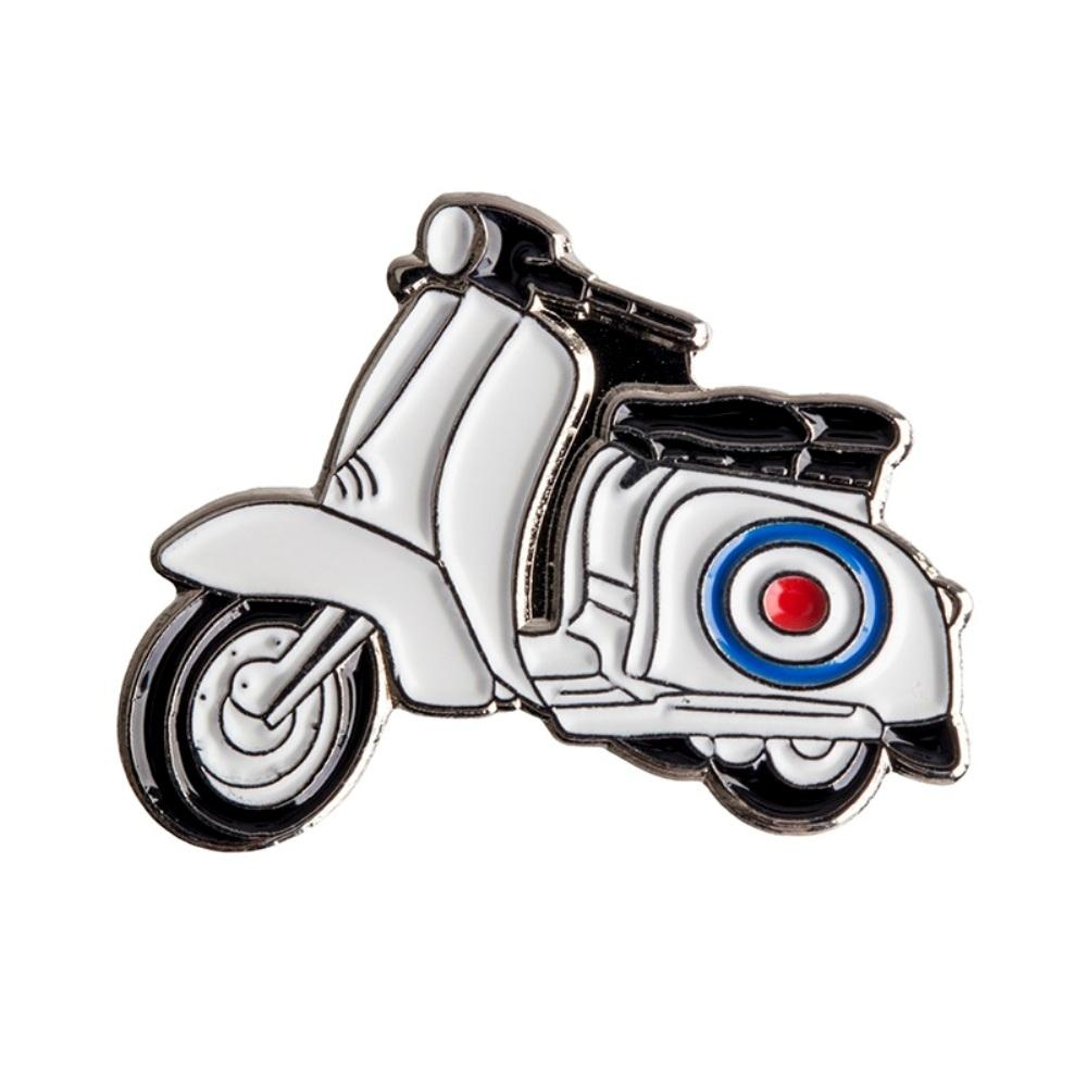 Mod Scooter Lapel Pin Badge - Minimum Mouse