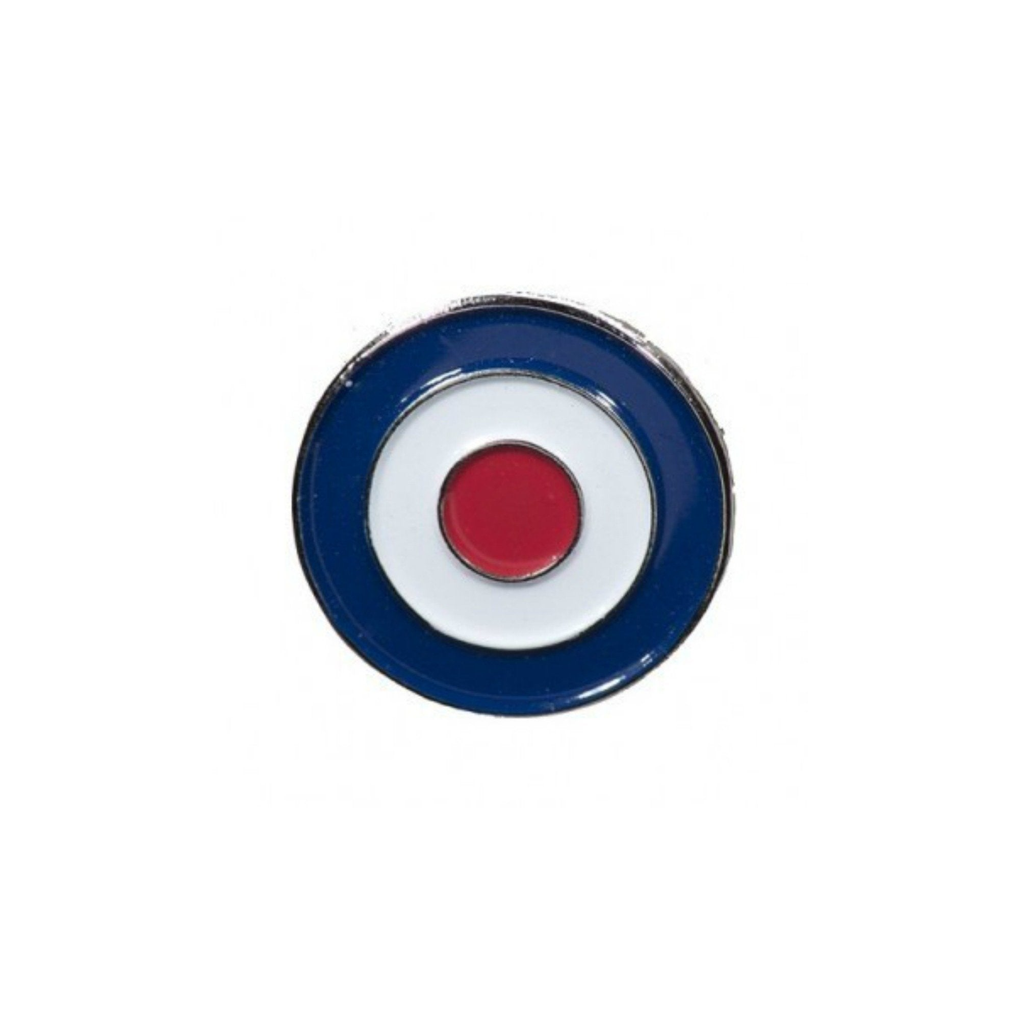 Mod Target Enamel Lapel Pin Badge - Minimum Mouse