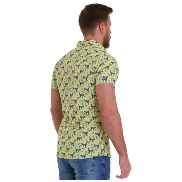 Monkey Print Shirt by Run and Fly - Minimum Mouse
