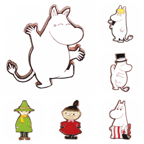 Moomins Enamel Lapel Pin Badge - Minimum Mouse