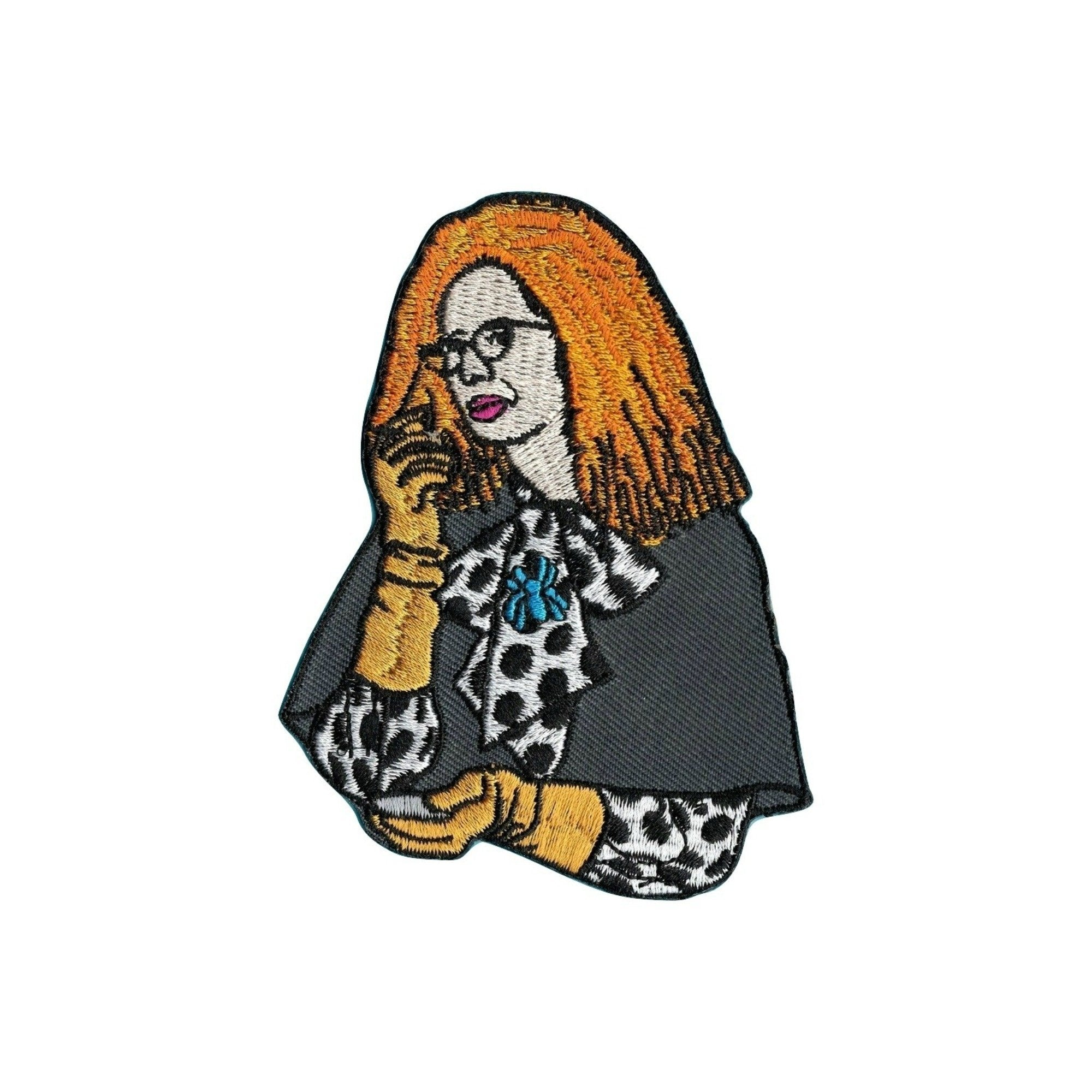 Myrtle Snow Iron On Patch - Minimum Mouse
