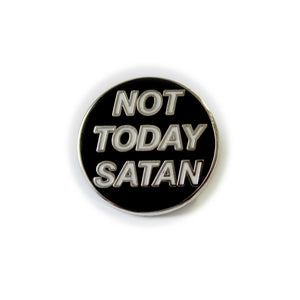 Not Today Satan Lapel Pin Badge Drag Race Bianca Del Rio - Minimum Mouse