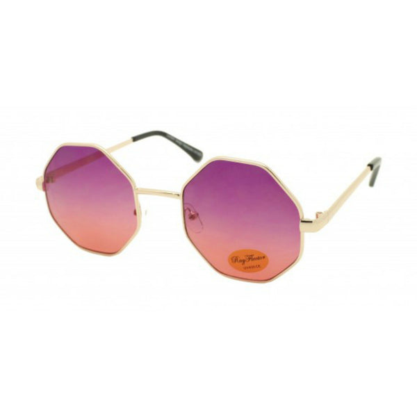 OCTAGON Metal Frame Sunglasses - Minimum Mouse