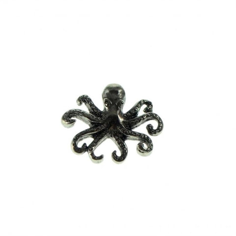 Octopus Pewter Lapel Pin Badge - Minimum Mouse