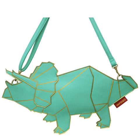 Origami Triceratops Dinosaur Bag by House of Disaster - Minimum Mouse