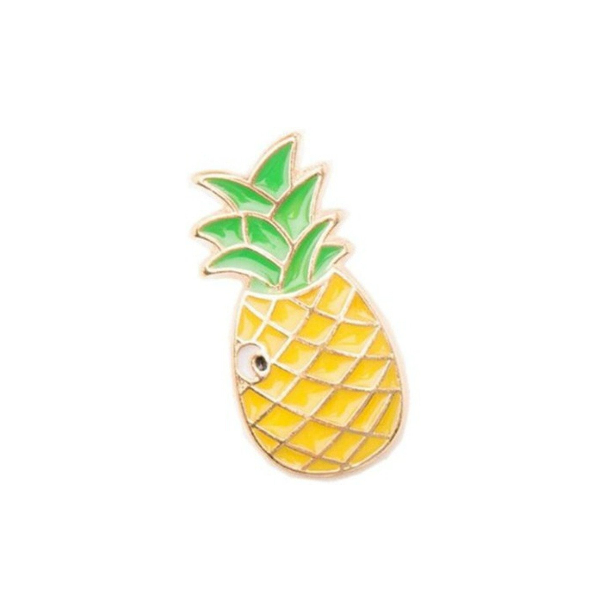 Pineapple Enamel Lapel Pin Badge - Minimum Mouse