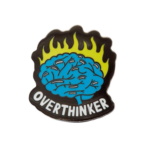 Punky Pins Overthinker Lapel Pin Badge - Minimum Mouse