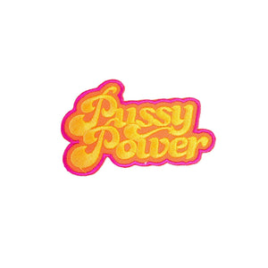 Pussy Power Iron On Patch - Minimum Mouse
