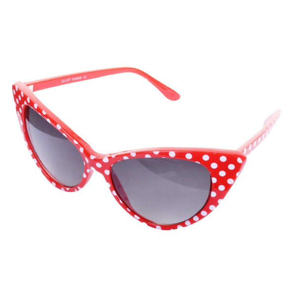 RENEE Polka Dot Cat's Eye Sunglasses - Minimum Mouse
