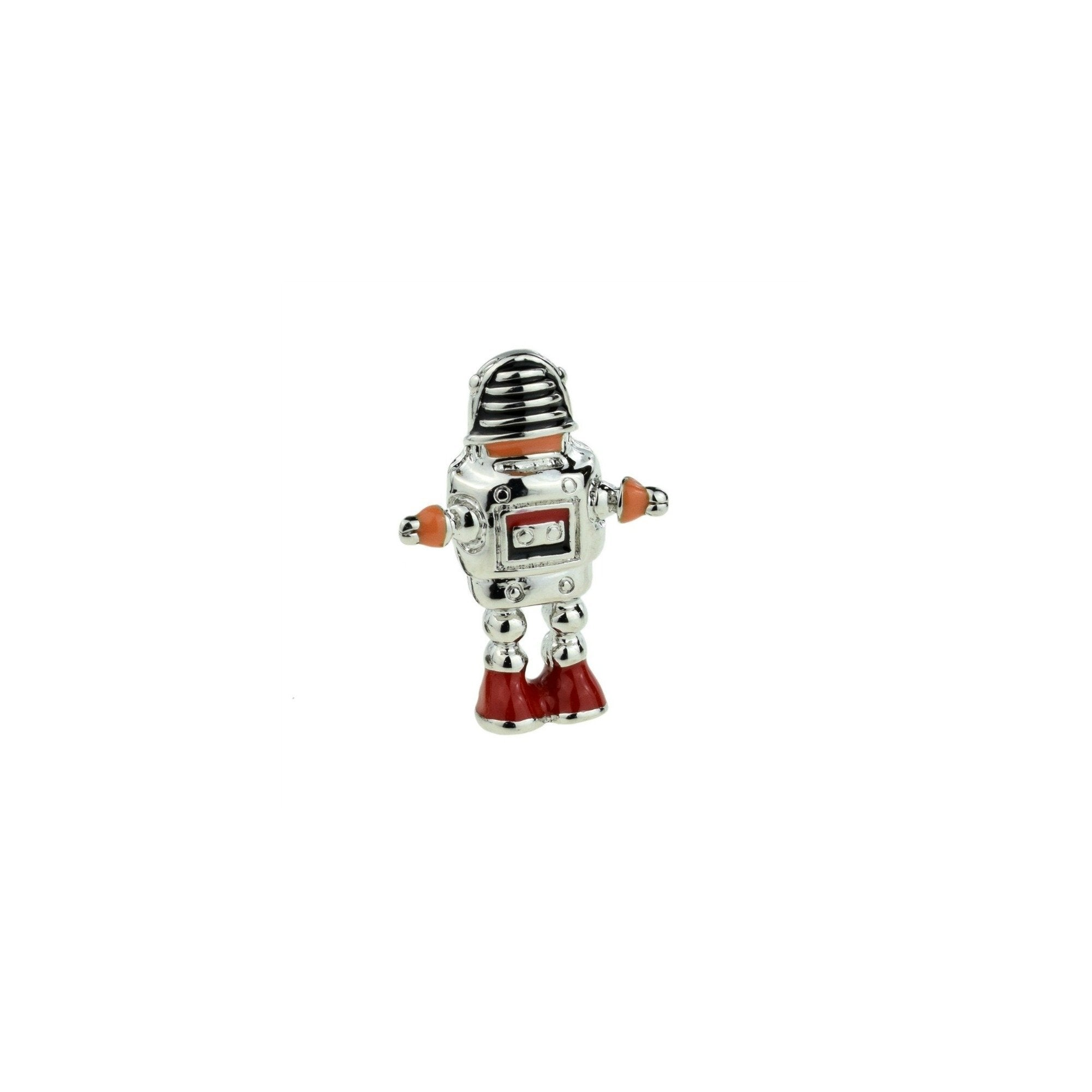 Robby The Robot Lapel Pin Badge - Minimum Mouse