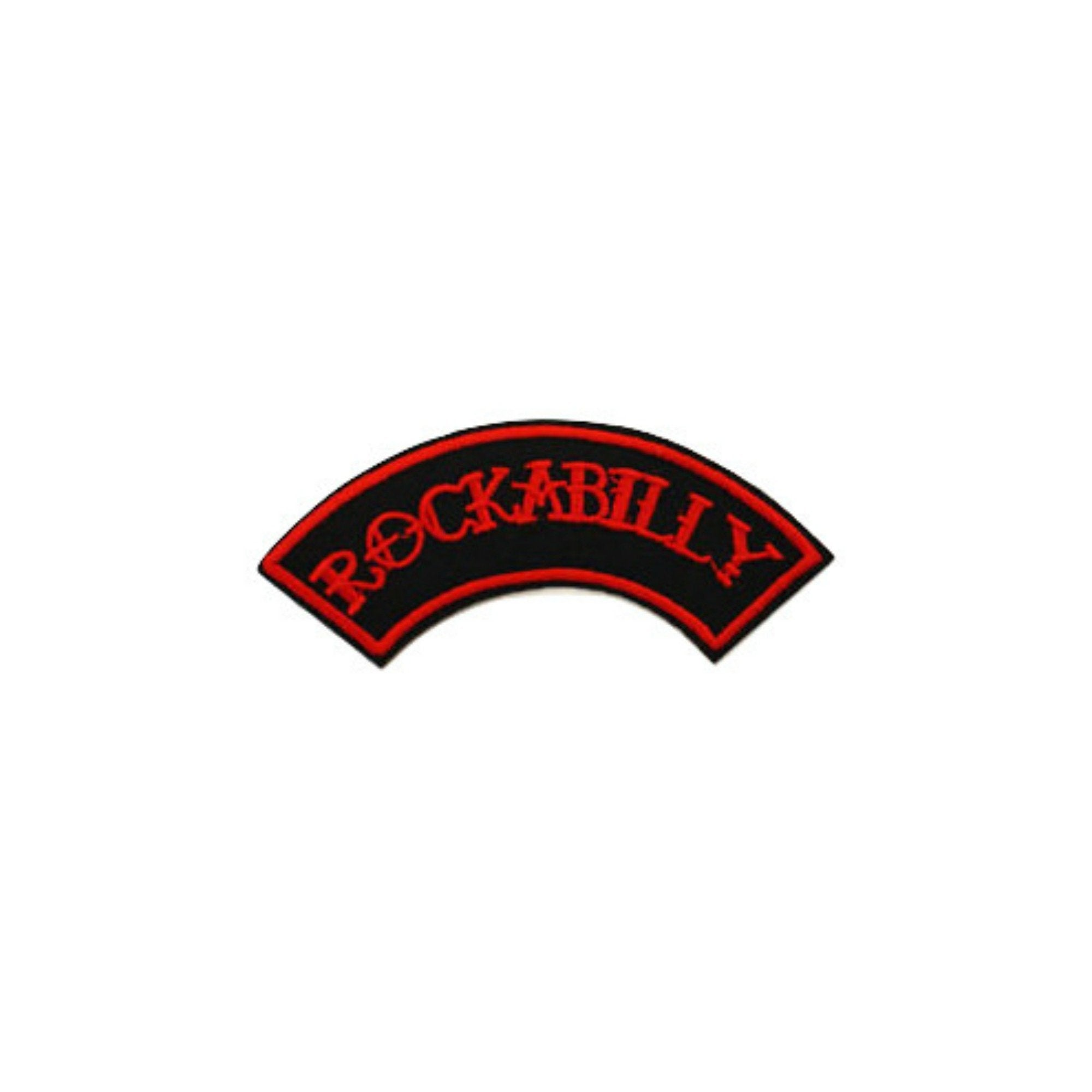 Rockabilly Iron On Patch - Minimum Mouse