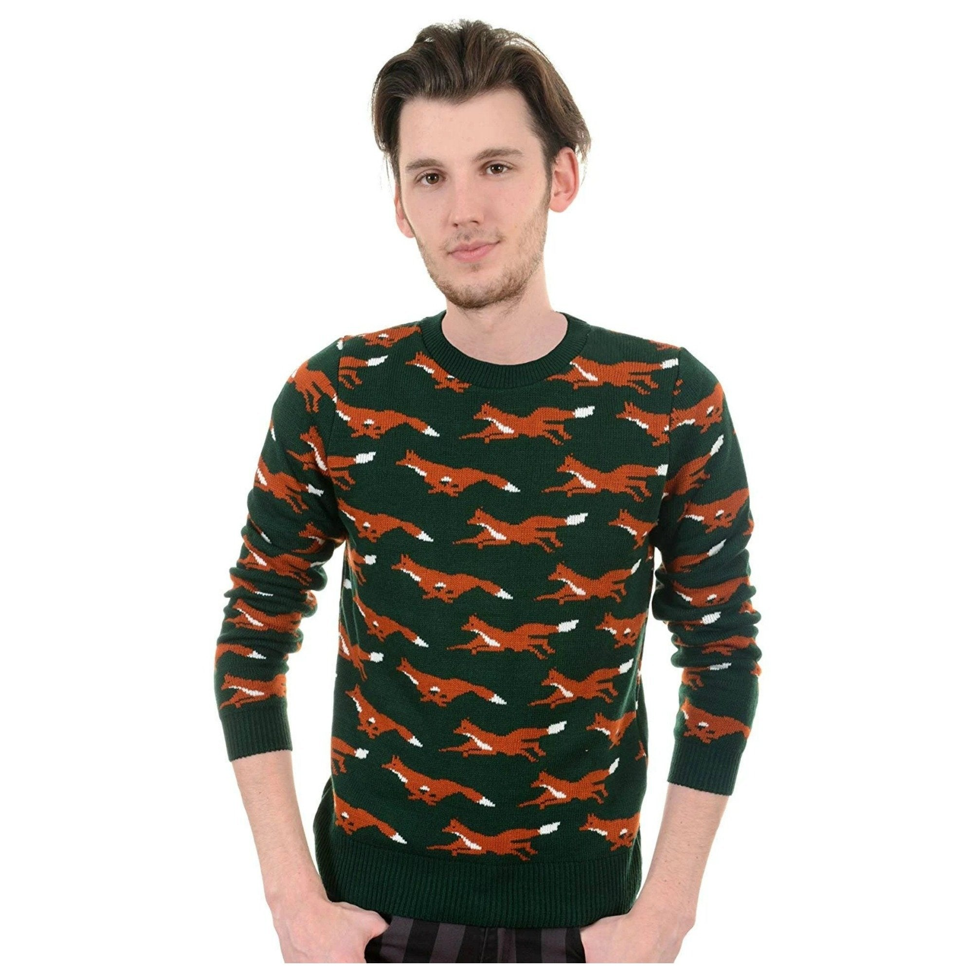 Running Fox Jumper By Run And Fly - Minimum Mouse