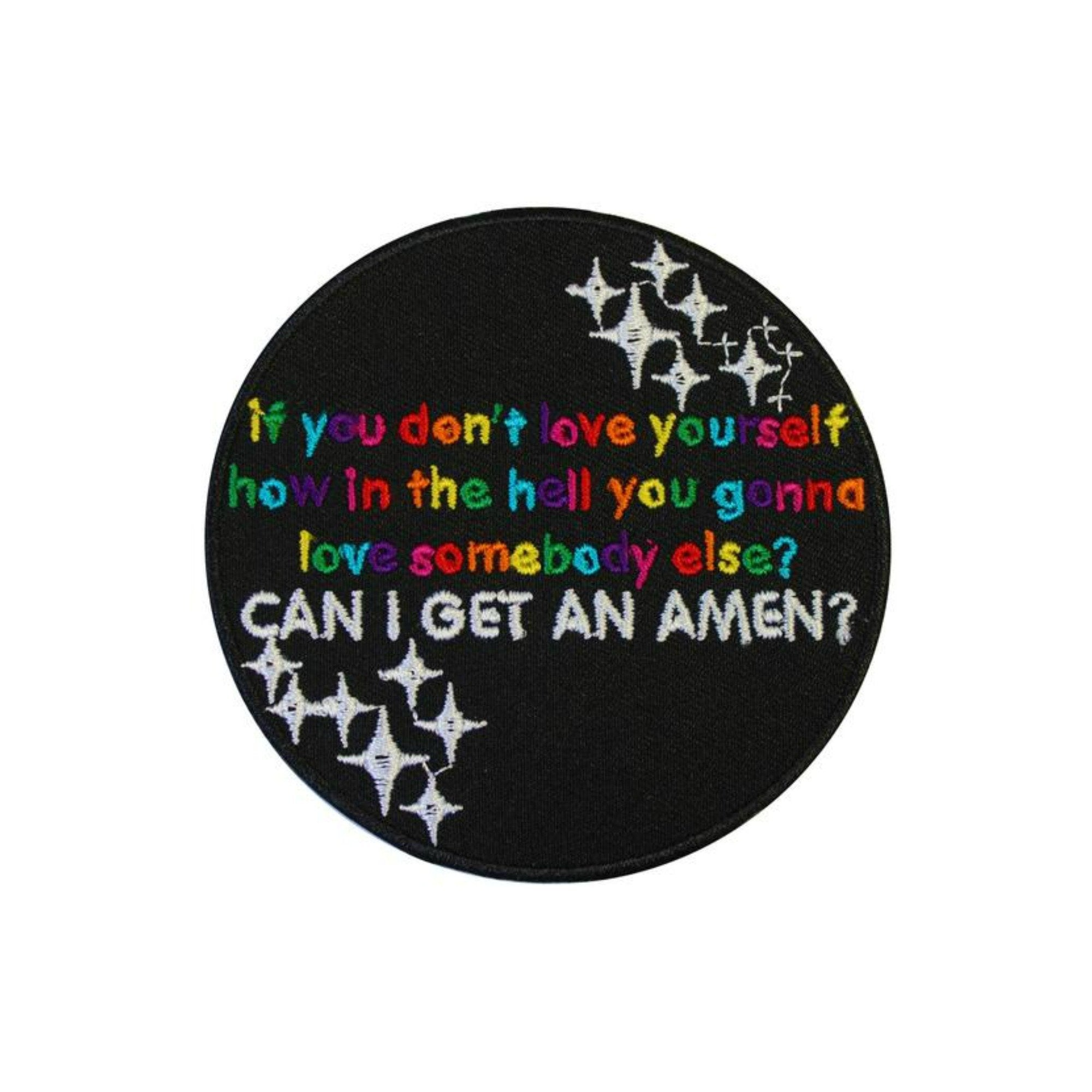 RuPaul's Drag Race Can I Get An Amen Iron On Patch - Minimum Mouse
