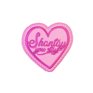 RuPaul's Drag Race Shantay You Stay Iron On Patch - Minimum Mouse