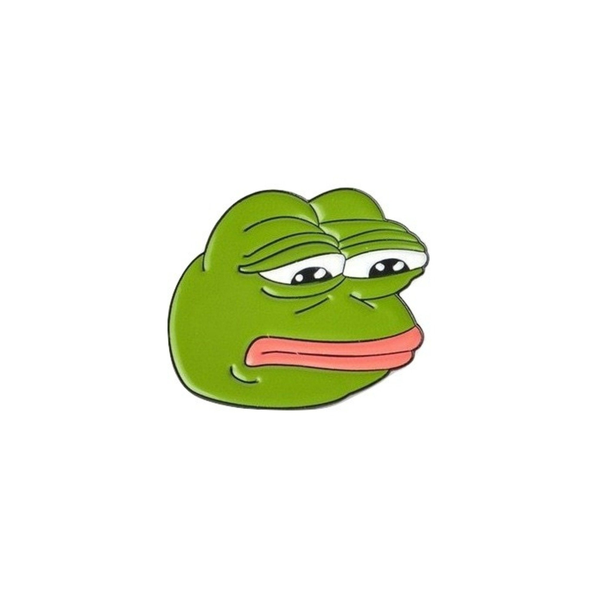 Sad Pepe The Frog Lapel Pin Badge - Minimum Mouse