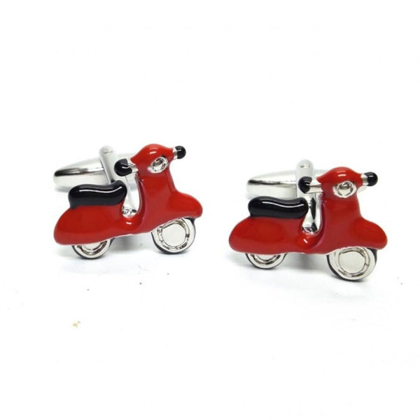 Scooter Cufflinks - Minimum Mouse