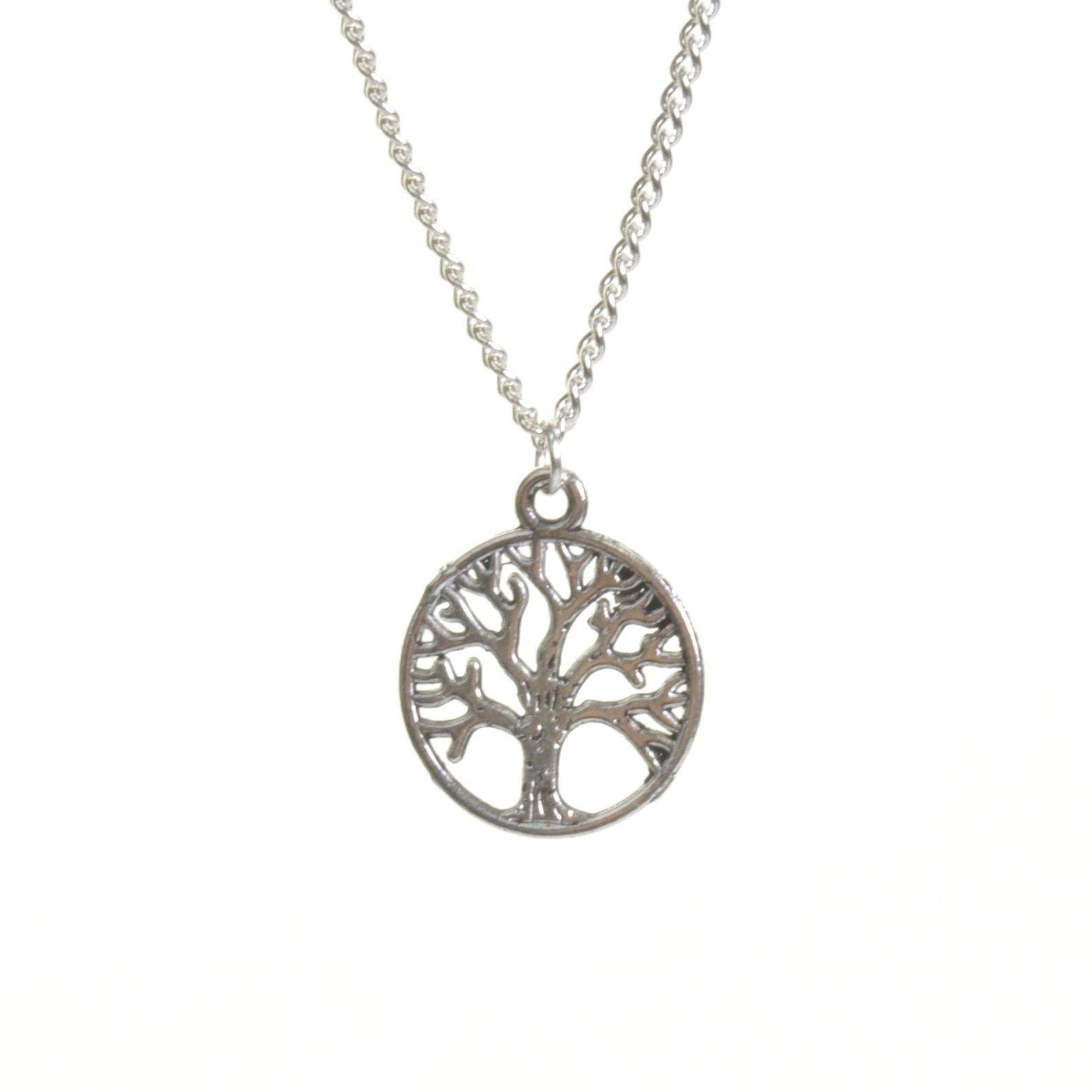 Silver Tree Of Life Necklace - Minimum Mouse