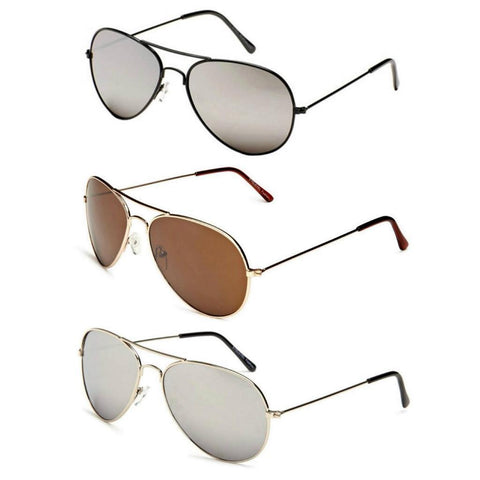 SKY Retro Aviator Sunglasses - Minimum Mouse