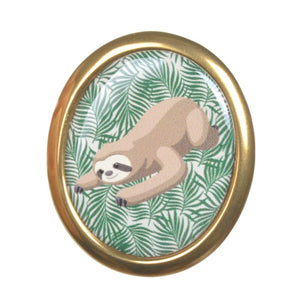 Sloth Brooch by Love Boutique - Minimum Mouse