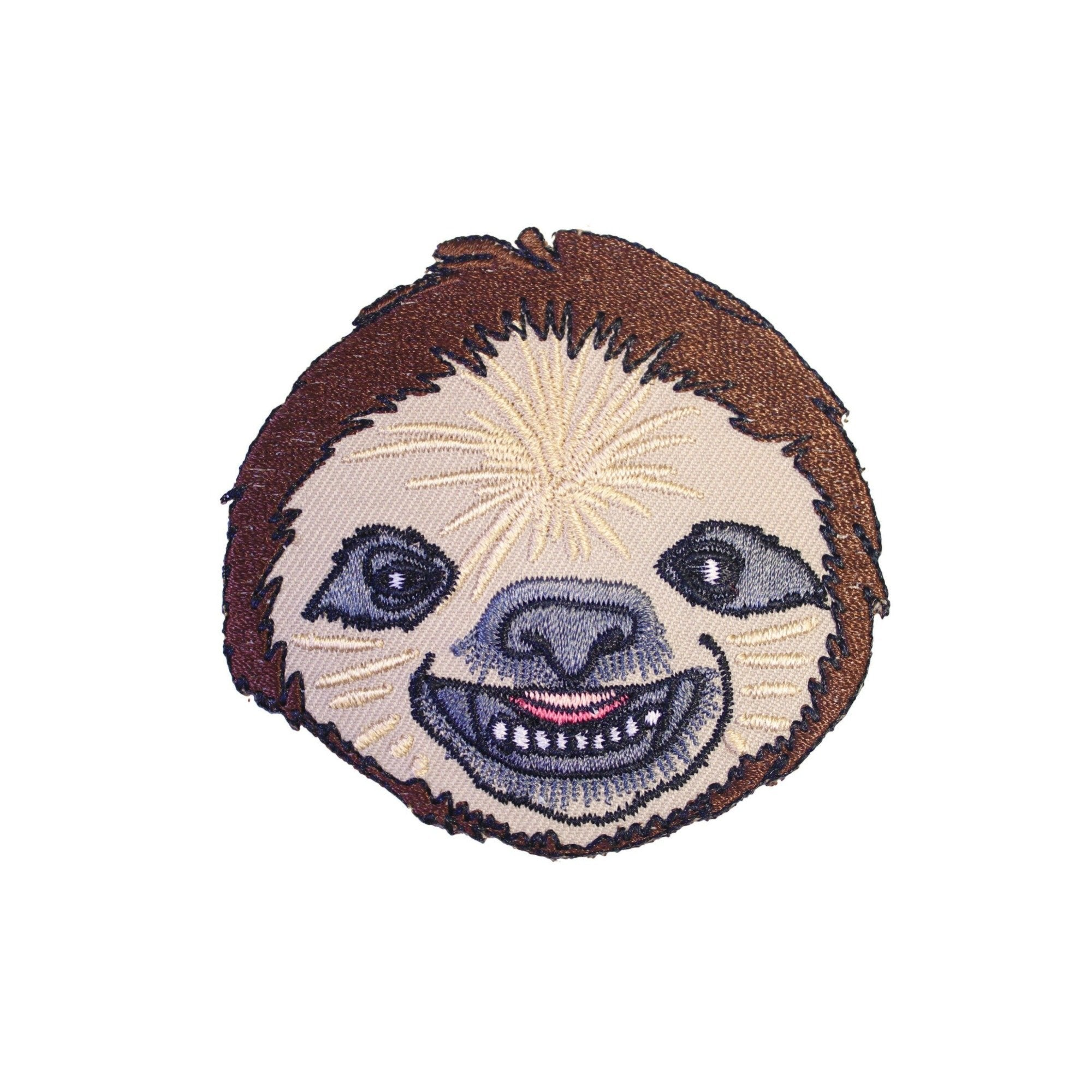 Sloth Iron On Patch - Minimum Mouse