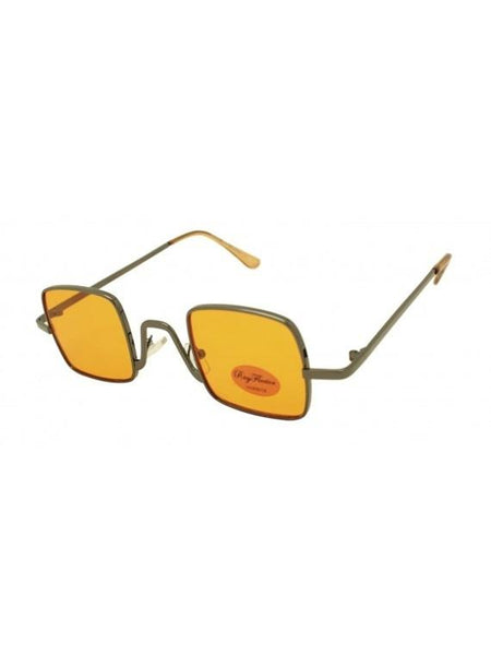 Small Metal Frame Square Sunglasses - Minimum Mouse