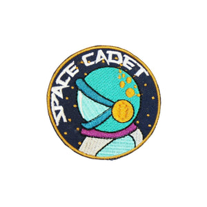 Space Cadet Iron On Patch - Minimum Mouse