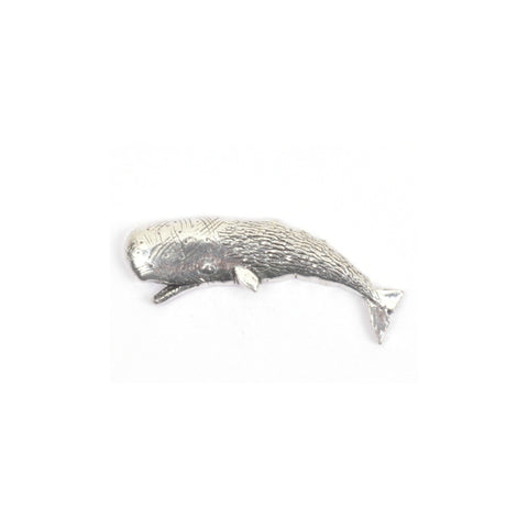 Sperm Whale Pewter Lapel Pin Badge - Minimum Mouse