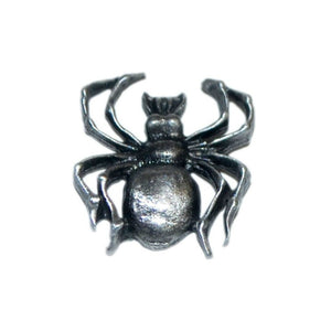 Spider Pewter Lapel Pin Badge - Minimum Mouse