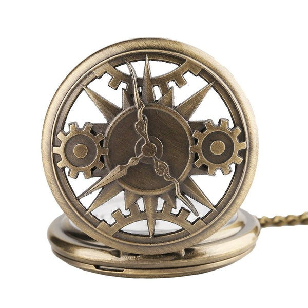 Steampunk Dials Quartz Pocket Watch - Minimum Mouse