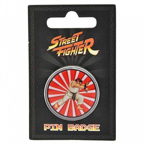 Street Fighter Ryu Lapel Pin Badge - Minimum Mouse