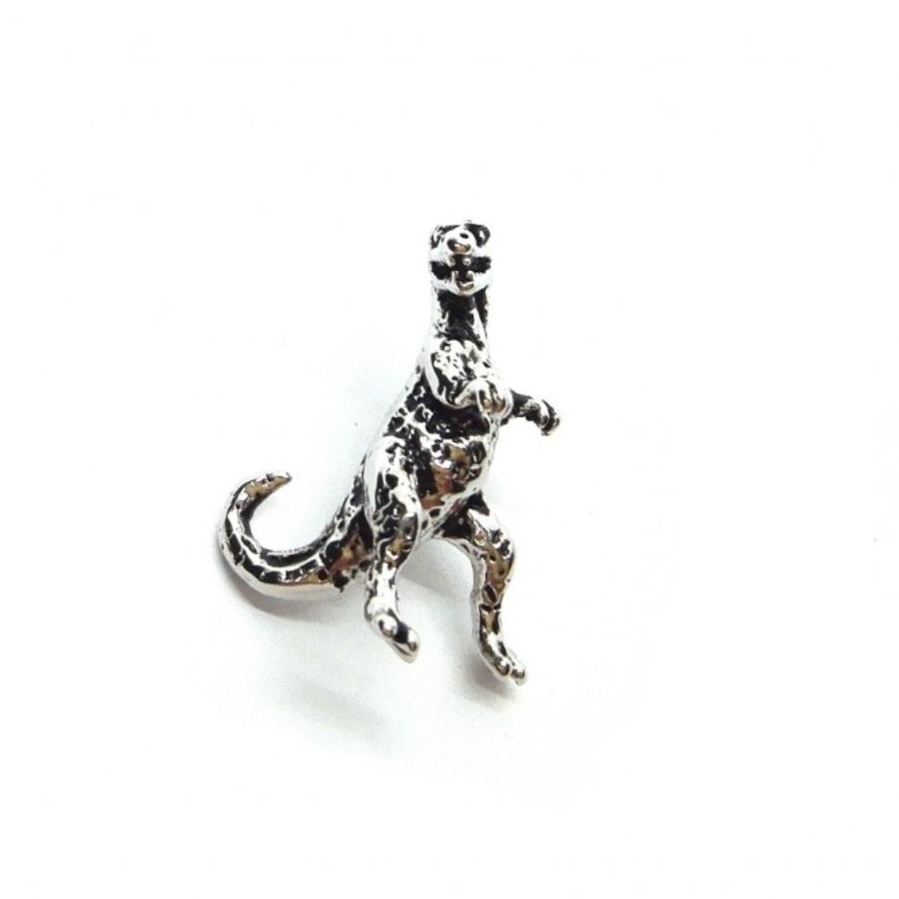 T Rex Dinosaur Lapel Pin Badge - Minimum Mouse