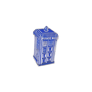 Tardis Police Box Enamel Lapel Pin Badge - Minimum Mouse