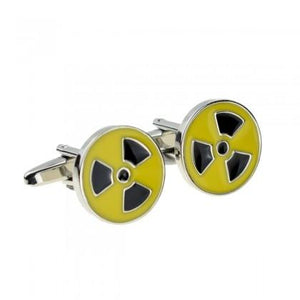 Toxic Waste Cufflinks - Minimum Mouse
