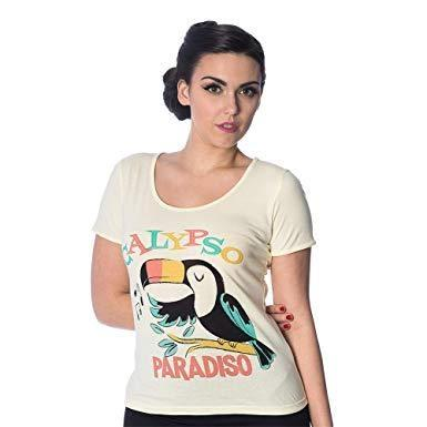 Tropical Toucan T Shirt by Banned Apparel - Minimum Mouse