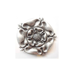 Tudor/House Tyrell Rose Pewter Game Of Thrones Lapel Pin Badge - Minimum Mouse