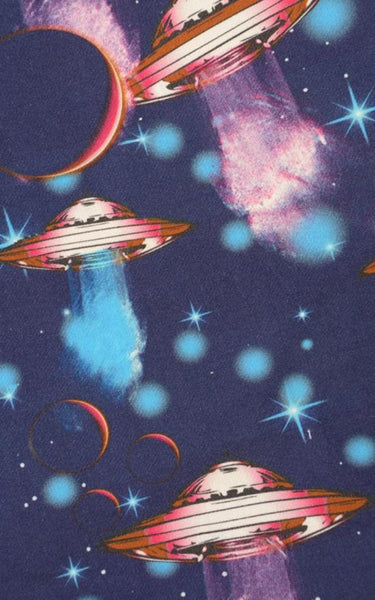 UFO Space Print Dress by Run and Fly - Minimum Mouse