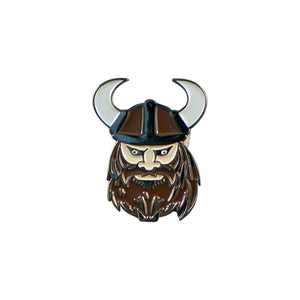 Viking Enamel Lapel Pin Badge - Minimum Mouse
